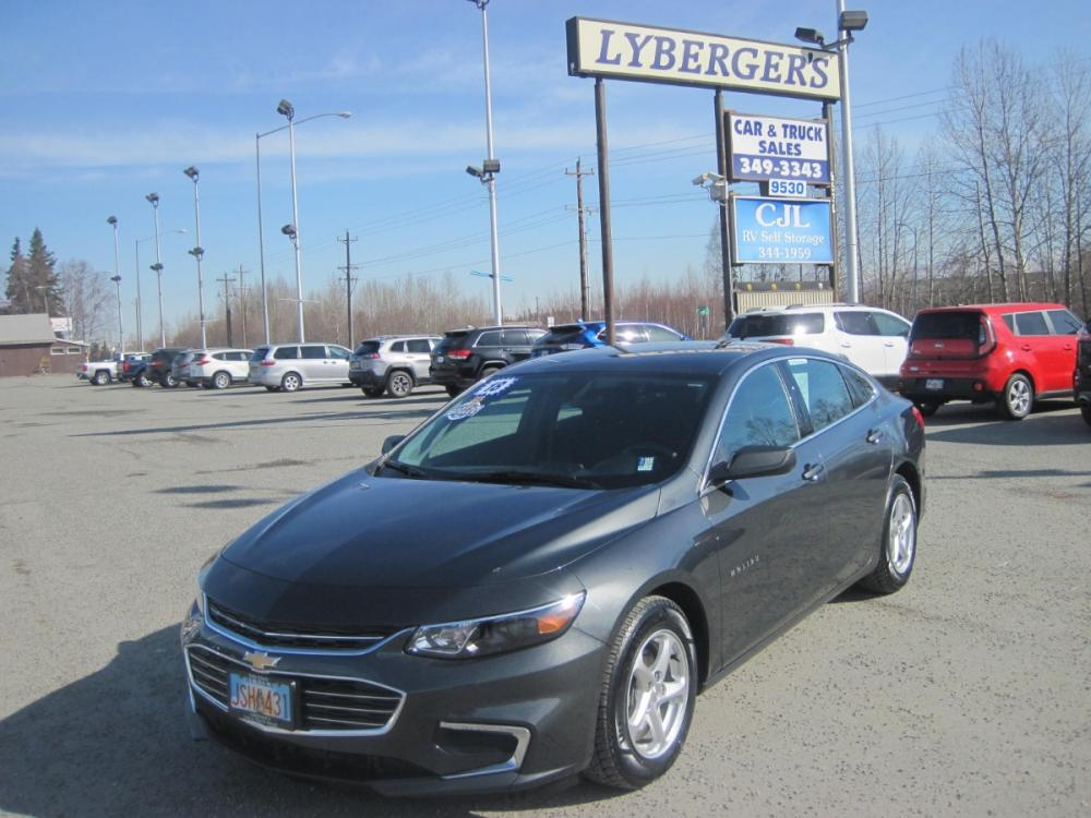 2018 silver Chevrolet Malibu LS ( 1G1ZB5ST5J) with an 1.5L L4 DOHC 16V engine, 6A transmission, located at 9530 Old Seward Highway, Anchorage, AK, 99515, (907) 349-3343, 61.134140, -149.865570 - Photo #0